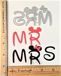 Scrapbooking Die-Mr. & Mrs.